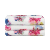 Cathkidston Guernsey Flowers Set Of 3 Facecloths