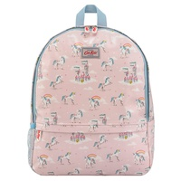 Cathkidston Unicorns and Rainbows Kids Mesh Pocket Padded Rucksack