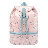 Cathkidston Unicorns and Rainbows Kids Compartment Backpack