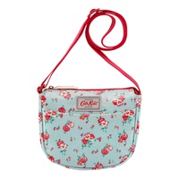 Cathkidston Pansies Mini Kids Half Moon Handbag