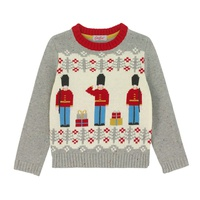 Cathkidston Boys Guard Christmas Jumper