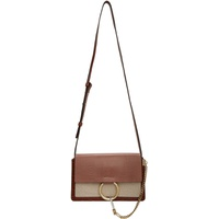 Brown Canvas Small Faye Day Bag