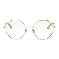 Chloe Gold Palma Glasses