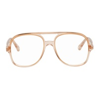 Chloe Pink Double Bridge Glasses
