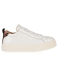 CHLOE Crocodile Effect Trainers