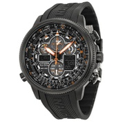 Citizen Promaster Navihawk A-T Eco Drive Black Dial Mens Watch JY8035-04E