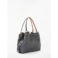 Coach Edie 31 Shoulder Bag, Charcoal Midnight/Navy