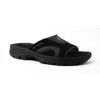Columbia Mens TangoSlide-M Black/Charcoal Slides