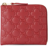 Comme Des Garcons Comme des Garcons Wallet printed red leather wallet Red