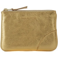 Comme Des Garcons Comme des Garcons golden leather purse wallet Gold