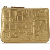 Comme Des Garcons Wallet Comme des Garcons golden leather with pattern Gold