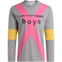 Comme Des Garcons Boys grey, pink and yellow t-shirt Grey