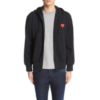 COMME DES GARCONS PLAY Zip-Up Hoodie