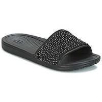Crocs SLOANE EMBELLISHED SLIDE Black
