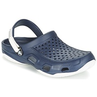 Crocs SWIFTWATER DECK CLOG Marine / White