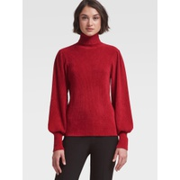 DKNY BOUSANT-SLEEVE TURTLENECK