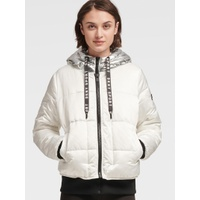 DKNY DOWN JACKET WITH CONTRAST HOOD