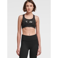DKNY MEDIUM-IMPACT LOGO BRA