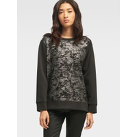 DKNY FOILED SWEATSHIRT