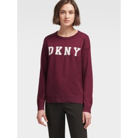 DKNY LOGO SIDE-ZIP PULLOVER