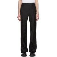 Black Jazz Flare Trousers
