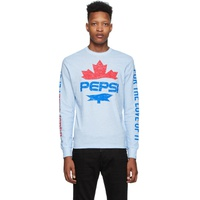 Blue Pepsi Edition Surf Fit Long Sleeve T-Shirt