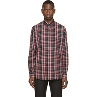 Red & Grey Flannel Check Shirt