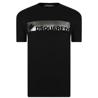 DSQUARED2 Metallic Logo T Shirt