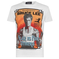 DSQUARED2 Bruce Lee Fear T Shirt