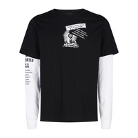 Diesel Graphic Layered T-Shirt