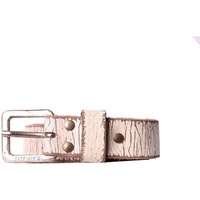 Diesel - Leather Belt BSTUPID Beige