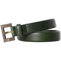 Diesel - Leather Belt BIMASSI vert