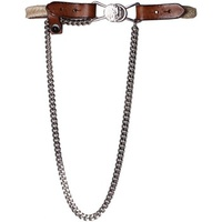 Diesel - Leather and Jute Belt BEBI Marron