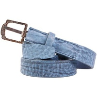 Diesel - Leather Belt BETAL bleu