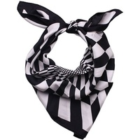 Diesel BLACK GOLD - Silk Neckerchief 26x26 in / 65x65 cm SKARMY Noir