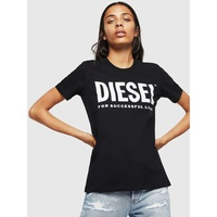 Diesel 00SYW8 0CATJ T-SILY-WX T-SHIRT AND TANK TOPS Women BLACK BLACK