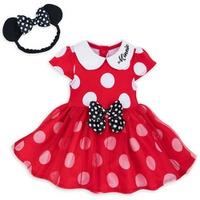 Disney Minnie Mouse Costume Bodysuit for Baby - Red