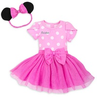 Disney Minnie Mouse Costume Bodysuit for Baby - Pink - Personalizable
