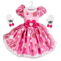 Disney Minnie Mouse Pink Dress Costume for Kids