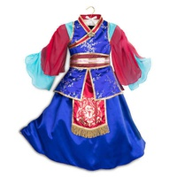Disney Mulan Deluxe Costume For Kids