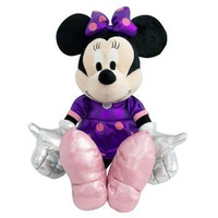 Disney Minnie Mouse Pillow Time Pals Jumbo Stuffed Plush