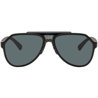 Black Matte Aviator Sunglasses