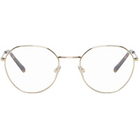 Gold Metal Round Glasses