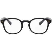 Black Monogram Glasses