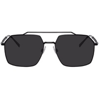 Black Gros Grain Sunglasses