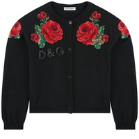 Dolce & Gabbana Mini Me cardigan with embroideries