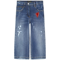 Dolce & Gabbana Mini Me Girl flare fit jeans