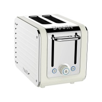 Dualit Architect 2-Slice Toaster, Canvas White