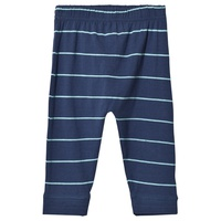EBBe Kids Navy and Turquoise Striped Algot Pants