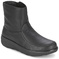 FitFlop LOAFF SHORTY ZIP BOOT Black